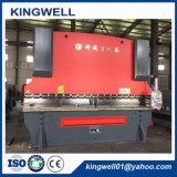 Dobladora de la hoja inoxidable de acero de la placa del metal del CNC del fabricante de China, freno confiable hidráulico de la prensa del control del Nc