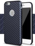 Caisse molle d'unité centrale de fibre de carbone pour iPhone7