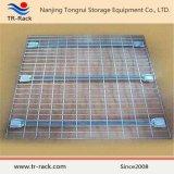 Decking industrial resistente del acoplamiento de alambre con el tormento utilizado de la paleta