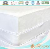 TPU laminó el protector ajustado impermeable de la cubierta del Encasement del colchón