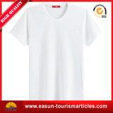 Тенниска шеи просто конструкции v белая для девушки (ES3052506AMA)