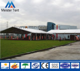 Tenda bianca della tenda foranea del PVC con le pareti di vetro da vendere