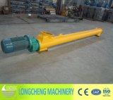 Transportador de tornillo espiral de Lx para el grano plástico