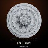 Plafond de polyuréthane de médaillons de plafond d'unité centrale Rose/plaque Hn-010