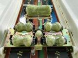 Base médica da massagem do jade de Thermotherapy com o certificado do Ce para o ajuste da espinha