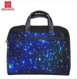Голубой звёздный пропуск багажа случая мешка компьтер-книжки неба через сумку PC для повелительницы Человека девушок