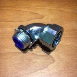 Type de plomb connecteur flexible de conduit des syndicats imperméables à l'eau de zinc de 90 degrés