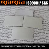billet réutilisable imperméable à l'eau à affichage de papier de l'IDENTIFICATION RF 13.56MHz pour l'étiquette nommée