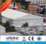 Barraca grande impermeável do partido do PVC com forro e cortina