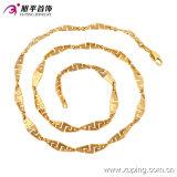 42782 نمط حارّ عمليّة بيع توباغو تصميم مجوهرات عقد في [24ك] نوع ذهب لون