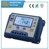 Controlador solar de alta freqüência com indicador do LCD (ST6-20)