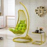 ハングの椅子の&Swing藤の家具、藤のバスケット(D035)