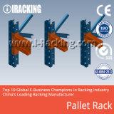 Sistema de rack de paletes pesados para soluções de armazenamento industrial