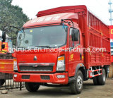 3-5トラックトンの一般貨物の、HOWOの軽トラック