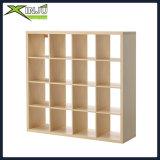 biblioteca de madeira/de madeira de 16-Cube do carvalho do armazenamento
