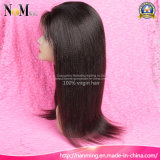 2017 Nova Virgem Virgem Remy Yaki Silk Base Top peruca de cabelo humano