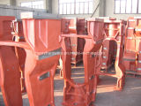 Vários frames dianteiros de ferro de molde para tratores
