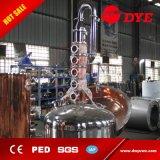 200L autoguident toujours le distillateur d'alcool avec des plaques de fléau d'en cuivre à vendre
