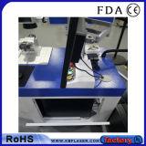 20W &30W &50Wステンレス鋼、金属、ABS、プラスチックのための経済的な表のファイバーレーザーのマーカーのマーキング機械