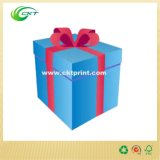 리본 (CKT-CB-301)를 가진 Buttom 관대한 보석 선물 뚜껑 그리고 상자