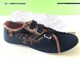 Zapatos ocasionales de los zapatos de lona de la inyección de los hombres de la manera (FFYJ1223-07)