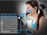 Bluetooth 소형 무선 이어폰은, 소형 스포츠 iPhone 7 Samsung를 위한 무선 입체 음향 Bluetooth 헤드폰 헤드폰 7 검은 딸기를 주의한다