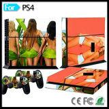 Стикер кожи защитного чехла для регулятора пульта станции 4 игры Сони PS4