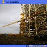 (5610) herumdrehender Selbst der Oberseite-Qtz63 der Kran-6ton, der Turmkran aufrichtet