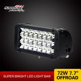 LED  Driving  Light  Barra chiara fuori strada di 72W LED della barra 7.7 ''