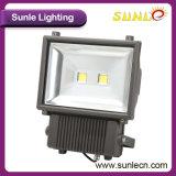 黒いですか灰色機構50W 100lm/Wの穂軸LEDのフラッドライト(SLFF25)