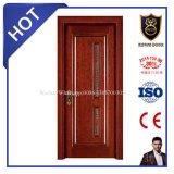 Porta de madeira principal contínua popular do projeto das vendas superiores