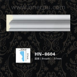Stuhl-Schienen-und Panel-Formteil PU-Gesims, das PU-Decke Hn-8604 formt