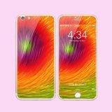 Vidrio Tempered colorido protector de la pantalla de ambas caras para el más de iPhone6/6s en existencias