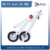Scooter blanc du modèle 2016 neufs mini et électrique pour la ville adulte de scooter