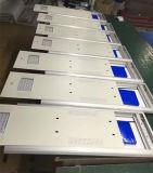 Luz de calle solar integrada mencionada de la FCC 110lm/W 60W LED de RoHS del Ce para la iluminación del camino