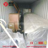 Type rond de plaque de plaque hydraulique de chambre filtre-presse pour l'argile en céramique