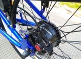 bicicletta elettrica della montagna del pneumatico grasso del blocco per grafici della lega di alluminio 500W, bici