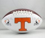 マッチのためのOEMの方法PVC PUのアメリカン・フットボールのラグビーのボール