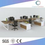 Poste de travail élégant de compartiment d'ordinateur de personnel de vente chaude