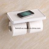 SS-Papierhalter mit ABS Vorstand für Badezimmer-Zubehör (RY01)