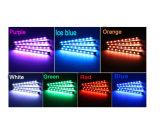 Éclairage LED ambiant intérieur interne sans fil du véhicule RVB de contrôle de voix