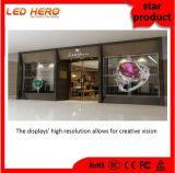 창조적인 아이디어를 가진 HD P3.75 투명한 스크린