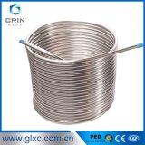 Tubo de bobina de metal inoxidável de aço inoxidável de alta precisão 304