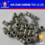 El alambre del diamante de las herramientas 7.2m m del diamante de Huazuan vio granos con el diámetro interno de 3.9m m