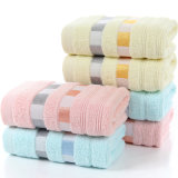 Дешевая мягкая оптовая продажа полотенца ванны хлопка тканья