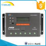 Работа Vs2048bn регулятора 12/24/36/48V обязанности Epsolar 20A солнечная автоматическая