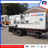 Diesel y eléctrico bomba de mezcla por lotes con 100 kW Commins Generador en venta