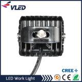 punto de 12V 12W/luces de trabajo magnéticas de la base LED de la inundación para resistente del carro del camino