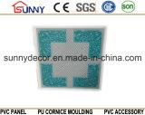 Панель стены 600mmx600mm Плитк-PVC потолка PVC