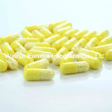 El citrato y la vitamina A funcionales del cinc del alimento modificaron cápsulas del desbloquear